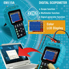 Digital Oscilloscope Tester Handheld Scope Meter & Multimeter 50MHz Bandwidth