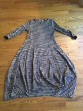 """New Lagenlook ZIP FRONT ballon pick up QUIRKY Oversized TUNIC DRESS 48/"""""""
