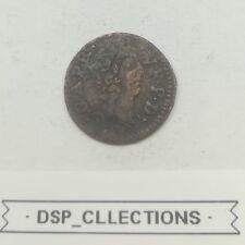 DOMBES - DENIER TOURNOIS 1650 - GASTON D'ORLÉANS - Réf: 52/M05