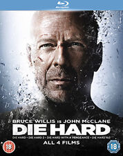 DIE HARD QUADRILOGY - BLU-RAY - REGION B UK