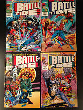 BATTLETIDE COMIC SET #1-4 MARVEL UK 1992 DEATH'S HEAD KILLPOWER