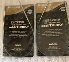 Addi Turbo Us 4, 16� Knitting Needkes
