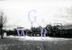 Baryt Eisenbahn Foto - Haidenschaft 1914/18, Bild 40, Kriegsarchiv Österreich