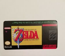 Zelda a link to the past Snes Cartridge Replacement Label Sticker