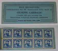 ( 111 ) Dieci chiudilettera 50° Anniversario della Morte di Giuseppe Garibaldi