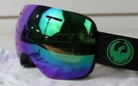 New 2018 Dragon X1s Ski Snowboard Goggles Split - Green Ion Lumalens + Bonus