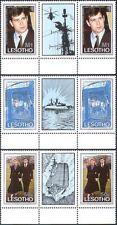 Lesotho 1986 il Principe Andrew/Matrimonio Reale/ROYALTY/Elicottero 3 V grondaia PR n17082a