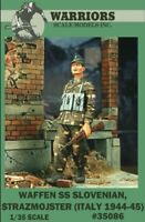 Warriors 1:35 Waffen SS Slovenian Strazmojster Italy 1944-45 Figure Kit #35086
