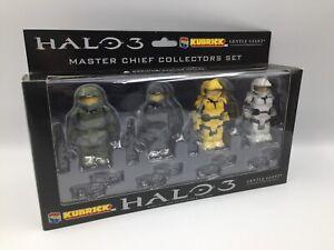 HALO 3 - MASTER CHIEF COLLECTORS SET - KUBRICK - GENTLE GIANT LTD