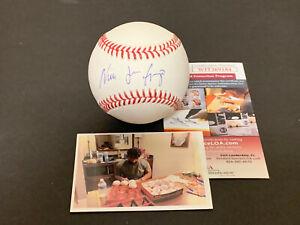 Nick Gonzales Pirates Auto Signed Baseball JSA WITNESS COA Full Name