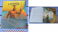 Livre L'homme-bonsaï, Ecole des Loisirs 2014,