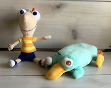 """A85 Disney Phineas & Ferb Perry Plush! 10"""" Stuffed Toy Lovey Platypus"""