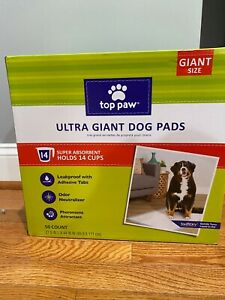 Top Paw Ultra giant dog pads 50 count