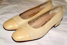 Salvatore Ferragamo Pumps Cream Shoes