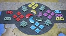 5 Clan Alliance Strongholds small bases Rising Sun exclusive CMoN Daimyo Box
