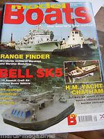 MODEL BOATS SEPTEMBER 2003 HM CHATHAM CAROUSEL BELL SK5