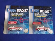 ((2)) Houston Rockets ~ NBA Die Cast ~ ERTL COLLECTION Ford F-150 1:64 ~ NEW