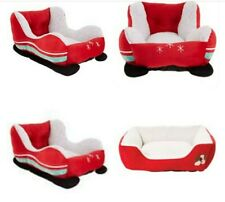 Brand new cat dog pet bed sleigh christmas FREE POSTAGE