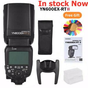 US Yongnuo YN600EX-RT II TTL HSS Wireless Flash light Speedlite For Canon Camera