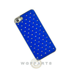 Apple iPhone 5/5S/i5S Shield Chrome Diamond Blue Case Cover Shell Guard