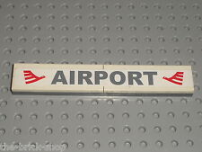 Autocollant aeroport LEGO CITY sticker / Set 7894  Airport