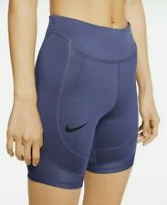 Nike Womens Purple Cycling / Running Shorts Size Large Brand New With Tags