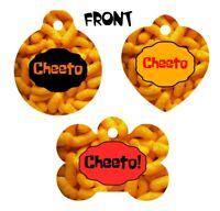 Pet ID Tag CHEETOS Personalized Custom Double Sided Pet Tag w/name & number