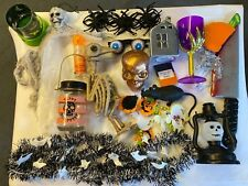 Halloween decorations Props Skulls Rat Raven bundle Kids Party Skeleton lights