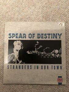 """Spear Of Destiny - Strangers In Our Town (7"""", Single)"""