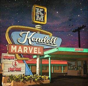 Kendell Marvel - Lowdown & Lonesome (NEW & SEALED CD 2018)