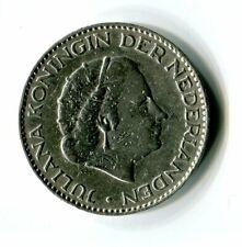 1 Gulden Niederlande 1957 Juliana Silber M_1201