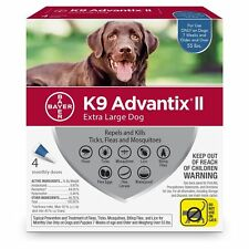 K9 Advantix II, Extra Large for Dogs, Over 55 Pound, 4 Month