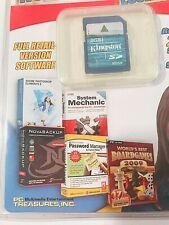 Pc Treasures Notebook Software Essentials Adobe, Nova, Sys Mech, Passwd Mgr 2gb