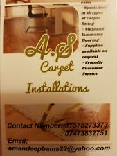 proffesional carpet fitter over 16 year experience please call or text on number