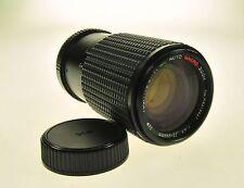 Pentax K Mount Tou Five Star Mc Auto Macro Zoom 75-200mm F4.5 Camera Lens