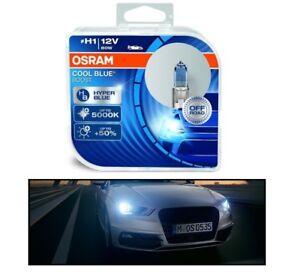 2 AMPOULE H1 12V 80W OSRAM COOL BLUE BOOST 5000K + 50 POURCENT
