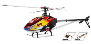 Gaui X5 Kit W/ Scorpion motor, 100A BL ESC & Carbon Blades