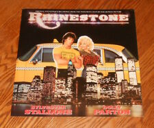 Rhinestone Soundtrack Movie Poster Flat Promo 12x12 Dolly Parton Stallone