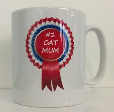NUMBER 1 CAT MUM - RAGAMUFFIN Novelty Printed Drinking Mug - Ideal Gift/Present