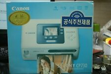 Canon SELPHY CP730 Digital Photo Thermal Printer ( NO  open)