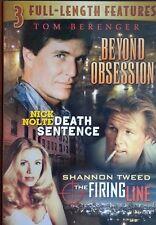 Beyond Obsession/ Death Sentence/ Firing Line   DVD   LIKE NEW