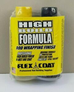 (6) Flex Coat - Rod Wrapping - High Build 8oz - Rod Whipping Finish Kit, Fishing