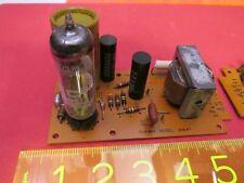MULLARD IEC 6GV8 ECL85 & IEC MULLARD ECF80 ECF89 with Output Transformer Rare !!