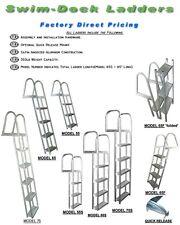 NEW Straight 3-Step Dock/Swim/Pontoon Ladder