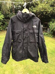 Mens Black North Face Jacket Size  Medium