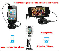 FM Transmitter Car Charger Holder Stand for iPhone 6 Plus 5S 5C 5G 4G 4S Samsung