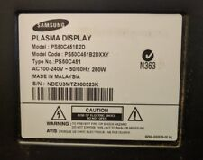 """SAMSUNG 50"""" PS50C451B2D PLASMA TV LOGIC MAIN BOARD LJ41-08387A / LJ92-01705"""
