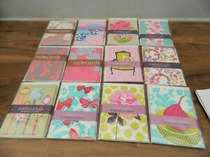 blank notecards 6 per pack  x 12 packs