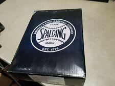 "Box of 11 New Spalding Baseballs 41-100Hs Leather Cork 9"" 5oz Pro Nfhs Bsb"