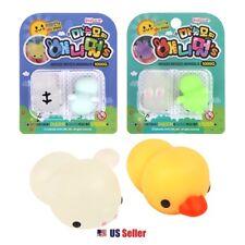 Magic Soft Mochi Mochi Animals Jelly Toy Soft Squishy Pudding Toy 2 Sets 4pcs